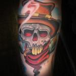 tony_lucero_cowboy_skull_tattoo